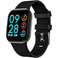 COULAX Montre connectée Bluetooth Homme Femme Enfant smartwatch Intelligent Bracelet connecté Multifonction étanche IP67 Sport podomètre pour Android iOS Phone