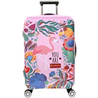 Top 10 Housse de Valise en Forme de Flamant 18-32 Pouces Luggage Cover en Polyester Clear Voyage Luggage Trolley Case Cover Protector
