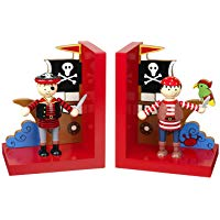 Orange Tree Toys : Wooden Pirate Bookends