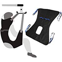 Meilleures sur  - Toileting Sling Sangle Patient Lifter Équipement d'ascenseur médical Ascenseur bariatrique d'écharpe handicap Sangle transfert médicale Ceinture avec support quatre points Sling complet du corps
